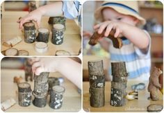 How to Make Waldorf-Inspired Nature Building Blocks for How to Make Waldorf-Inspired Nature Building Blocks for Children: DIY Toy TutorialTutorial