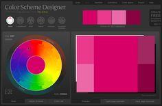 Color Scheme Designer: great tool for web design