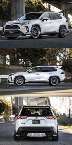 This Is The Next Best Thing To A Toyota GR. This body kit shows what a hardcore variant could look like. Toyota Rav4 2019, Toyota Cars, Toyota Corolla, Custom Trucks, Custom Cars, Toyota Rav4 Hybrid, Suv Cars, Truck Camping, Nissan