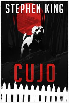 """Book Cover Test Illustration for a Stephen King """"Cujo"""" Book Jacket Refresh."""