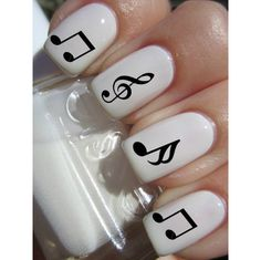 Music Note Nail Decals ($4.5)
