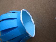 diy tutorial blue paper flower protea from rachel coddington