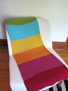 Ravelry: EspaceTricot's Super Happy Baby Blanket