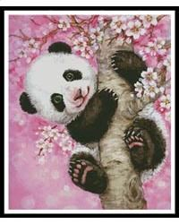 This counted cross stitch pattern was designed from the beautiful artwork of Kayomi Harai. Only full cross stitches are used in this pattern.
