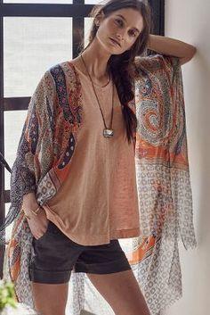 Subtle Luxury Sunlit Kimono #anthrofave