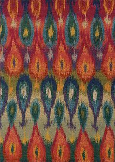 Kaleidoscope Abstract Area Rug
