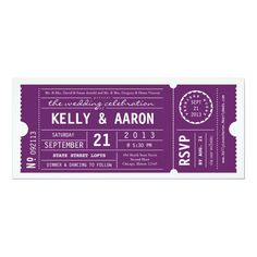 Vintage Playbill Theater Ticket Wedding Invitation - the golden ticket in my candy bar (Willy Wonka) Carton Invitation, Ticket Invitation, Invitation Design, Invitation Cards, Invitation Ideas, Reunion Invitations, Invitation Envelopes, Theater Tickets, Vip Tickets