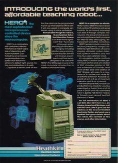 Heathkit / Zenith – World's first affordable robot (1983)