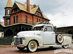 1951 Chevrolet Truck - Artillery Wheels - Lowrider Magazine
