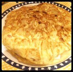 Tortilla de patata.  Tahona Artesanal Gourmet Bilbao.