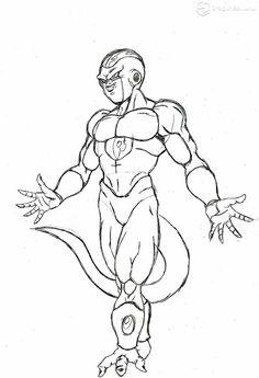 Resultado De Imagen Para Imagenes De Dibujos De Goku A Lapiz