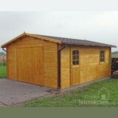 Drewniany garaż jednostanowiskowy (Wooden garage) B 24,7 m2