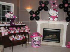 "Photo 13 of 38: Hello Kitty / Birthday ""Hello Kitty's Spa Party by Utopia Decor"""