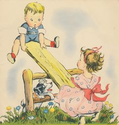 Here are more cute images from the 1941 Mother Goose book. Clip Art Vintage, Images Vintage, Vintage Drawing, Vintage Children's Books, Vintage Pictures, Vintage Cards, Retro Kids, Storybook Cottage, Vintage School