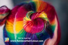 Double Rainbow hair Video Tutorial