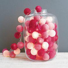 Cotton Ball String Lights