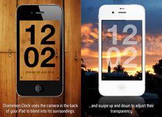 App นาฬิกาทีมองทะลุ iPhone, iPad ได้