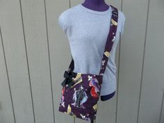 Disney Female Villains Crossbody Shoulder Bag in by OMGDesigns