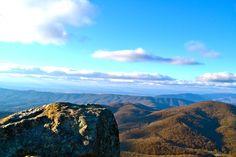 Sharp Top hiking Trail, Virginia