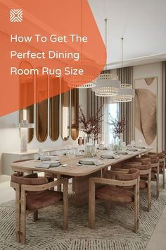 A gorgeous dining room decor can be further enhanced with a beautiful area rug in the right size. Having trouble picking the perfect dining room rug size? Just follow our guidelines and learn how to pick the right area rug size for your dining room.