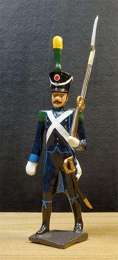 soldats de plomb et figurines de collection - boutique au plat d'étain à Paris - infanterie autrichienne