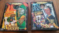 Dr DOOM & STORM Toy Biz Famous Cover Series Marvel Comics  MIB