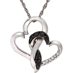 Beautiful 0.17 Ct Natural Black & White #Diamond Fish Shape #Pendant For Necklace.