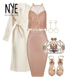 """NYE III"" by lov3story on Polyvore featuring Mode, MaxMara, River Island, Jimmy Choo, Alexander McQueen und Chloé"