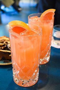 Fresh Grapefruit Juice at The Good Egg, Kingly Court #juice #grapefruit #goodegg #lunch #london