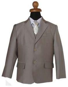 """Κοστούμια Παιδικά για Αγόρια - Παραγαμπράκια :: Κοστούμι σε Μπεζ για Αγόρι """"Alexander"""" -"""