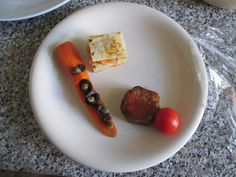 Carotte   pomme  de terre   aubergine  au tomate  Gino D'Aquino
