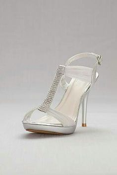 bd630881e9c3 Browse David s Bridal collection of women s formal   dress shoes