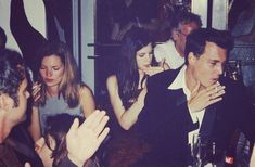 Kate Miss, Liv Tyler, Johnny Depp. So much gorgeous candid celebrity history.
