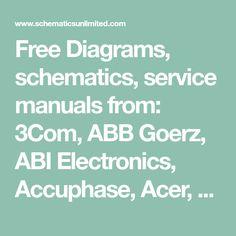 GFP565 Original Schematics for ServiceRepair in