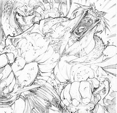 Joe Madureira - Battle Chasers//Joe Madureira/M/ Comic Art Community GALLERY OF COMIC ART