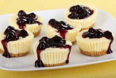 A very tasty recipe for lemon blueberry mini cheesecakes. Lemon Blueberry Mini Cheesecakes Recipe from Grandmothers Kitchen. A very tasty recipe for lemon blueberry mini cheesecakes. Lemon Blueberry Mini Cheesecakes Recipe from Grandmothers Kitchen. Blueberry Recipes, Lemon Recipes, Sweet Recipes, Simple Recipes, Mini Cheesecake Recipes, Cupcake Recipes, Dessert Recipes, Cheesecake Cups, Blueberry Topping For Cheesecake