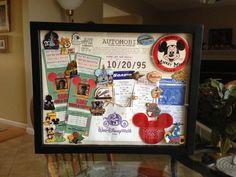 Disney souviner board Disney Vacations, Disney Trips, Disney Diy, Walt Disney, Disney Reservations, Disney World Birthday, Travel Souvenirs, Disney Dining, Orlando