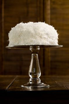Paula Deen Jamie's Coconut Cake. this is the sour cream coconut cake recipe I have been looking for! Paula Deen Coconut Cake, Coconut Cakes, Coconut Recipes, Coconut Milk, Southern Coconut Cake Recipe, Coconut Frosting, Lemon Cakes, Coconut Desserts, Coconut Custard
