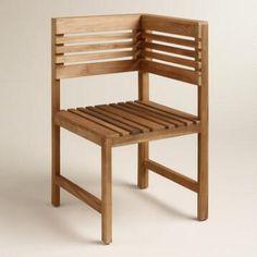 Wood Megano Corner Chair