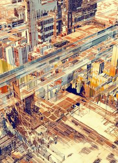 Atelier Olschinsky founded in 2002 is a small creative studio based in Vienna, Austria. Peter Olschinsky and Verena Weiss are operating in various fields such as graphic design, illustration, photography and art direction. Architecture Visualization, Architecture Drawings, Illustration, City Landscape, Typography Design, Logo Design, Graphic Design, Arches, Paris Skyline