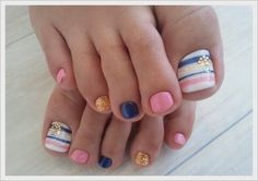 Cute Toe Nail Art Designs 2014