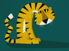 Rebecca Elliot Illustration: Lonely Tiger
