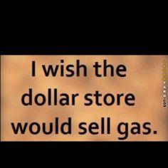 Dollar store gas