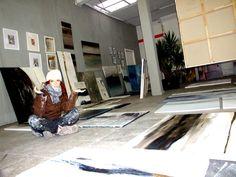 Atelier | …abstrakte Kunst, expressive Malerei