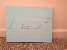 Tennessee Home Canvas Painting 11x14