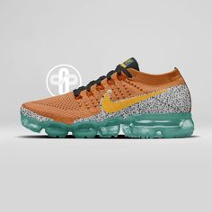 new style e7ab1 32c79 Baskets, Basket Nike, Orange Shoes, Nike Vapor, Nike Air Vapormax, Sneaker