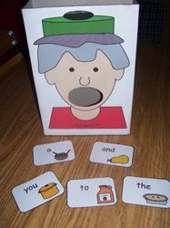 I Know an Old Lady Who Swallowed a Pie sight word activity & others!