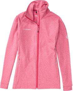 Mammut Women's Teewinot Fleece Jacket - Magenta/Melange Magenta Melange XS
