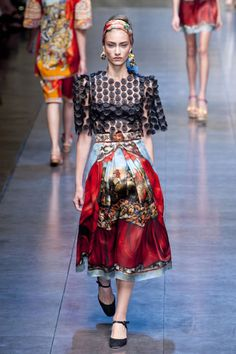 Dolce & Gabbana Spring 2013 Ready-to-Wear Collection