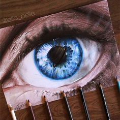 Repost from @elia_pelle  Realistic eye drawing of @justine.elizabeth_ realized with prismacolor and @winsorandnewton pro marker.  Write In the comments below when you'll notice it  #art #artistic #artwork #artoftheday #arts_help #nawden #worldofartists #art_spotlight #sketch_daily #eye   FOLLOW @ladyterezie & TAG your artworks #LADYTEREZIE to be FEATURED!  HOT TIPS CLICK link in my profile   via http://instagram.com/ladyterezie